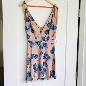 NWOT For Love And Lemons Floral Print Mini Dress M